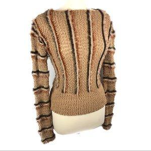 Fabulous vintage 70's fuzzy sweater